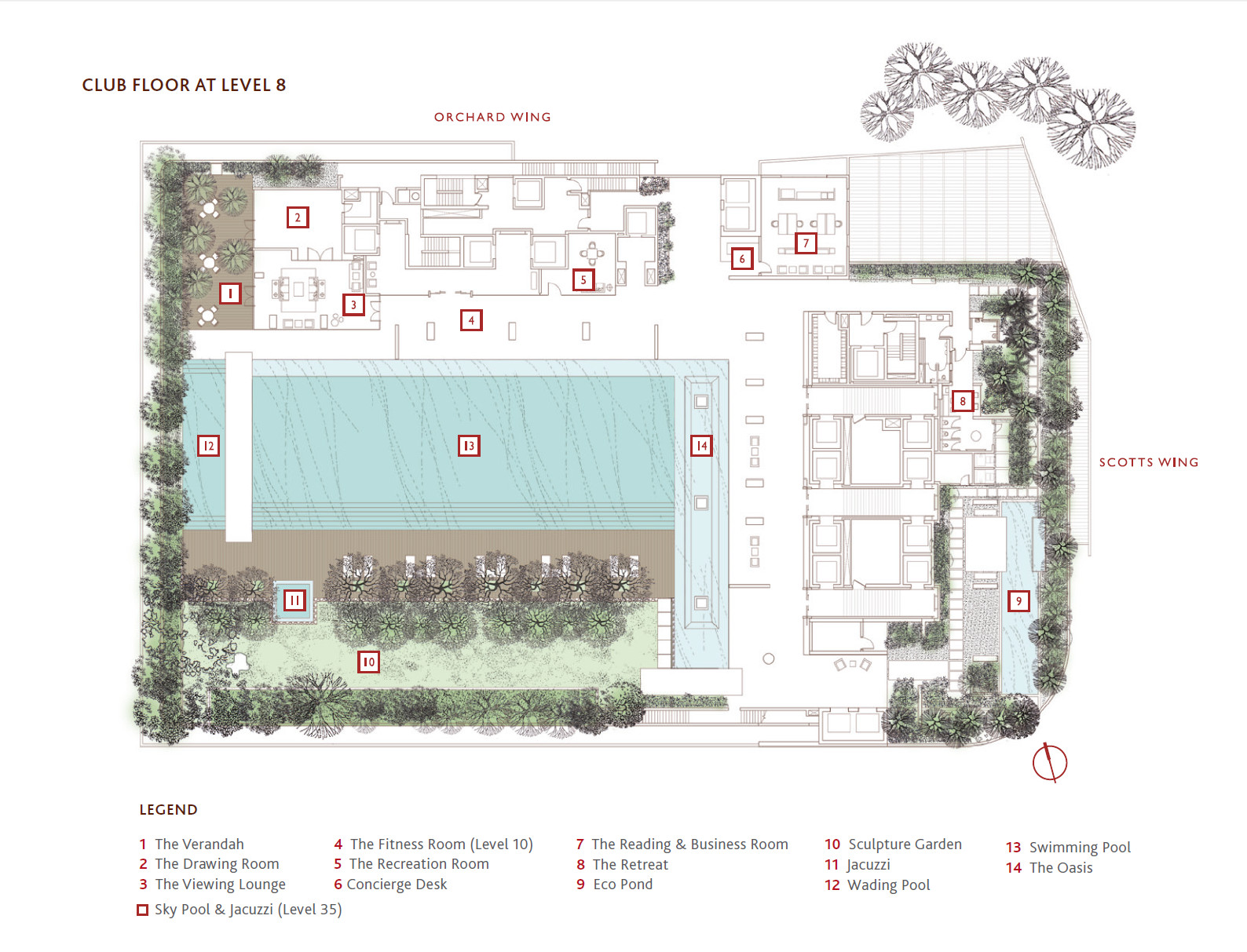 Scotts Square site plan