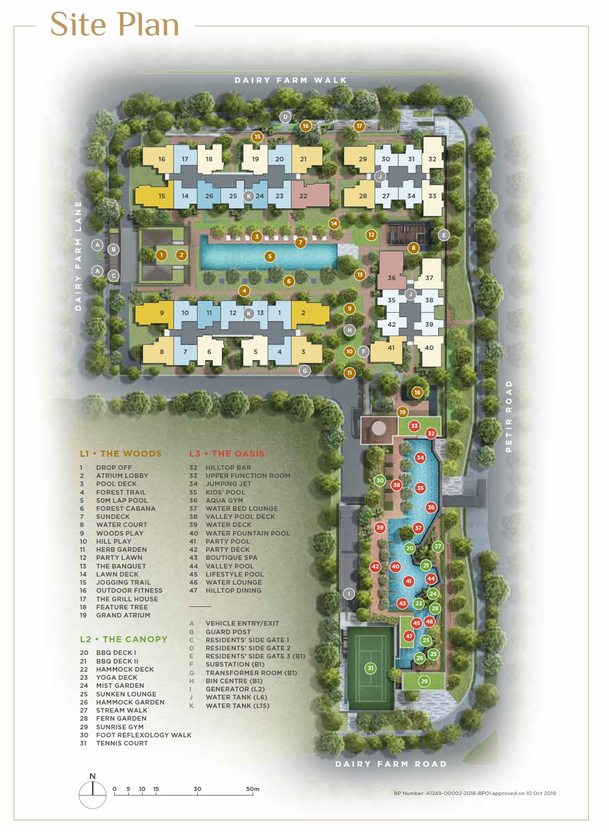 Dairy Farm Residences (D23) site plan