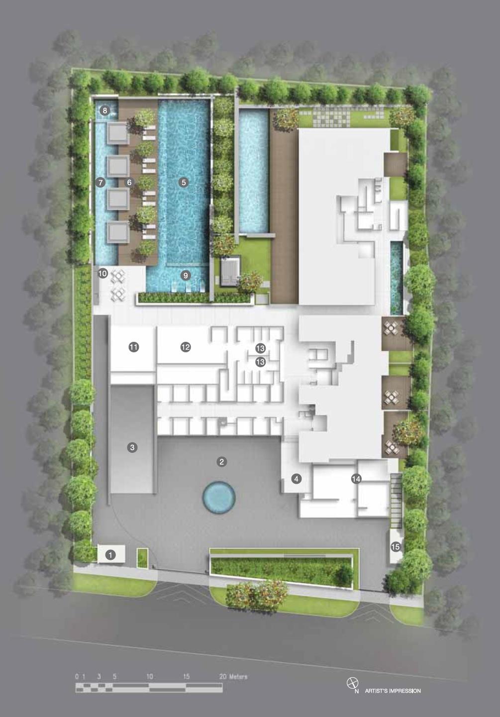 Lloyd SixtyFive site plan