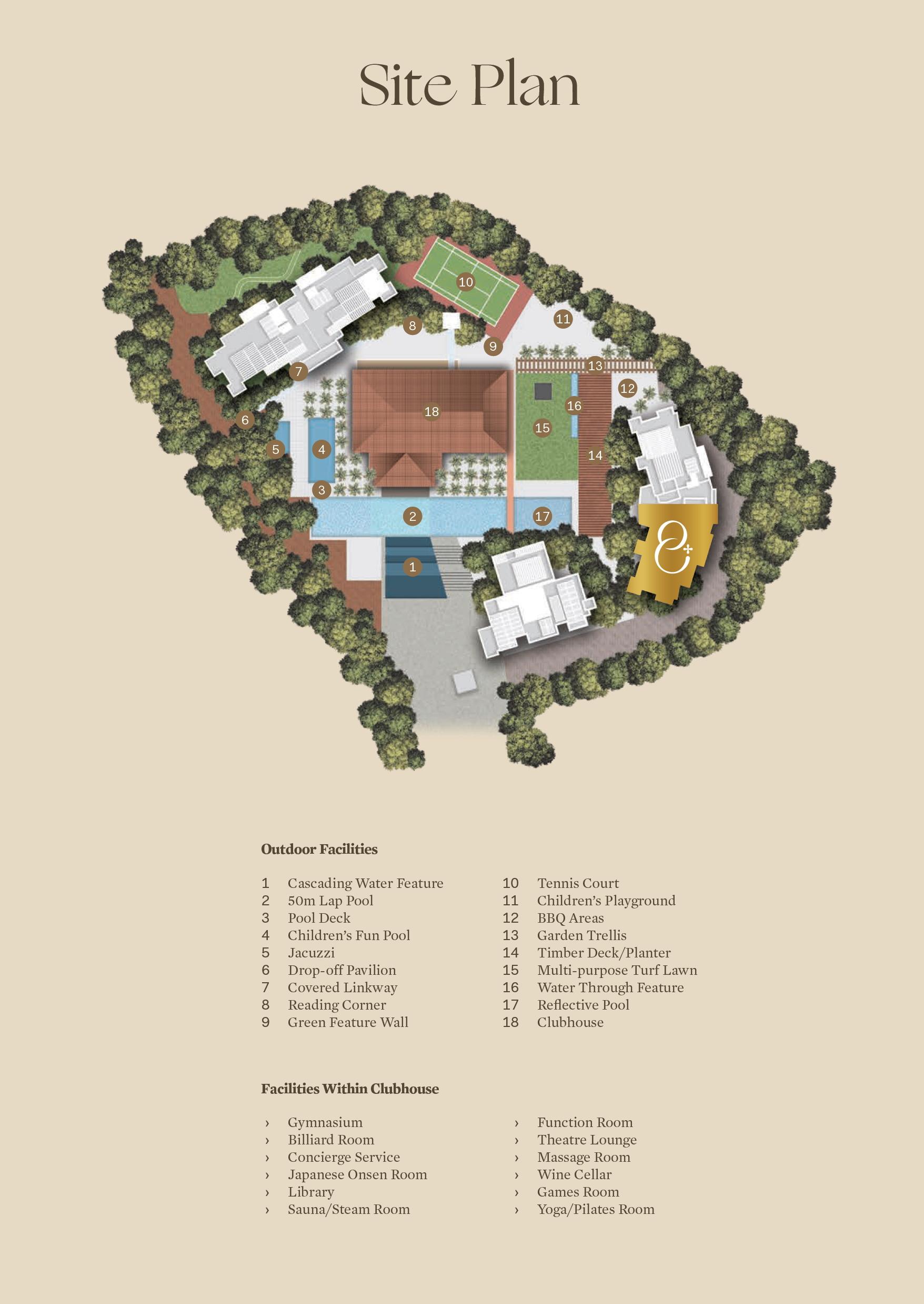 Draycott 8 site plan