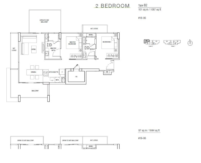 The Line Tanjong Rhu Site Plans And Floor Plans