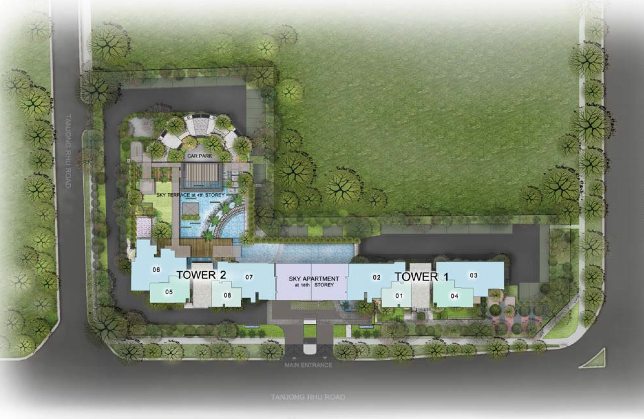 Site Plans The Line Tanjong Rhu