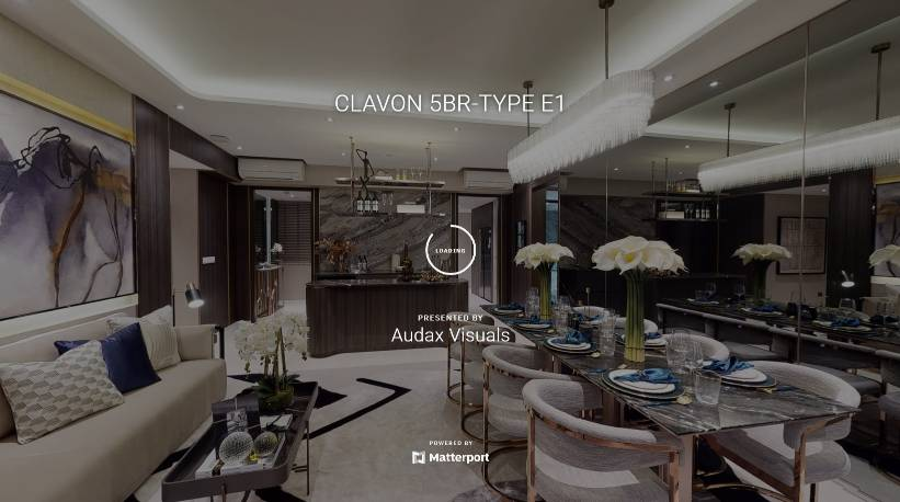 3D Virtual Tour of Clavon 5 Bedroom Type E1