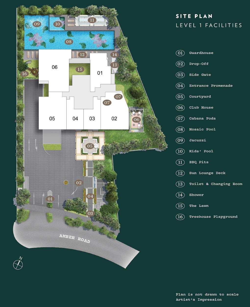 NYON@12 Amber site plan