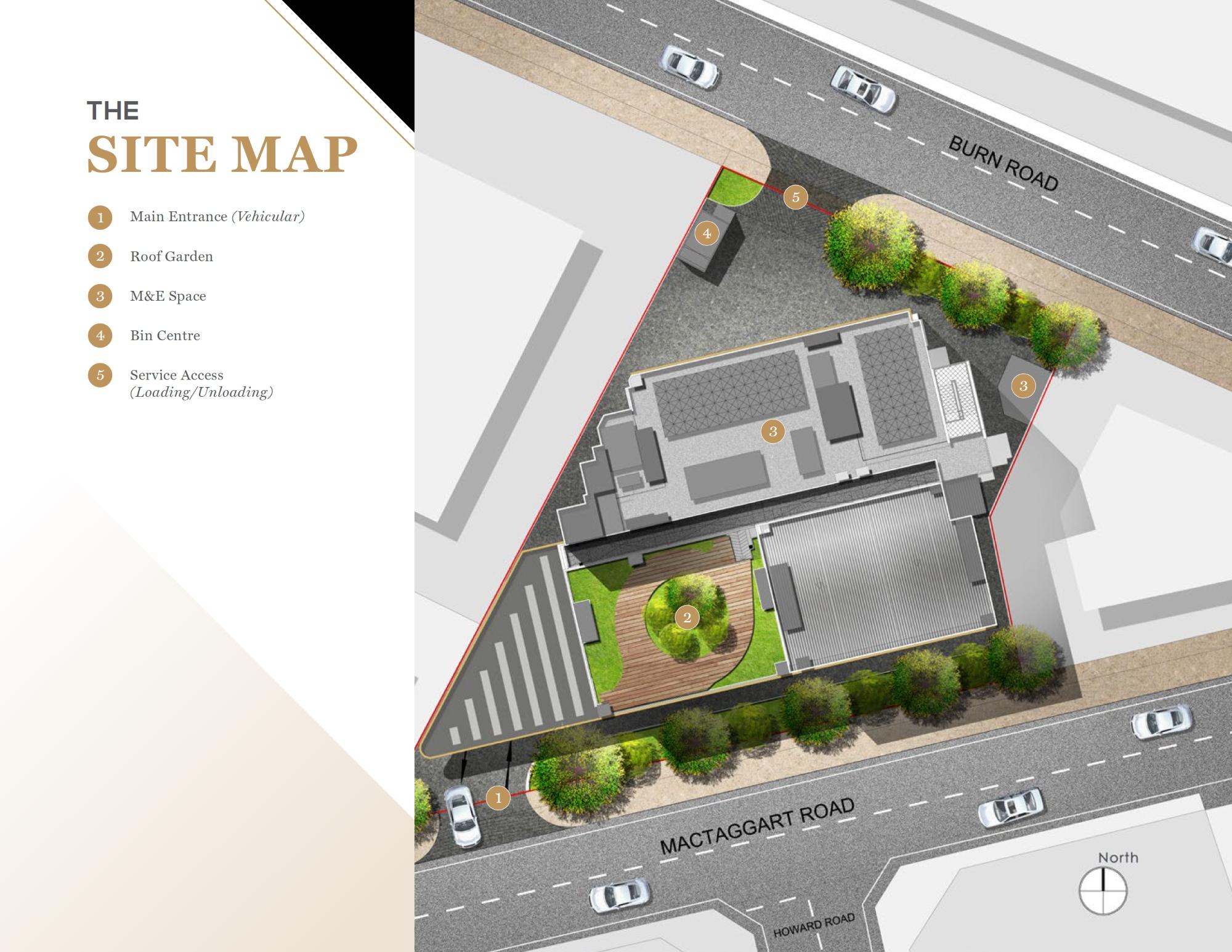 Mactaggart Foodlink site plan