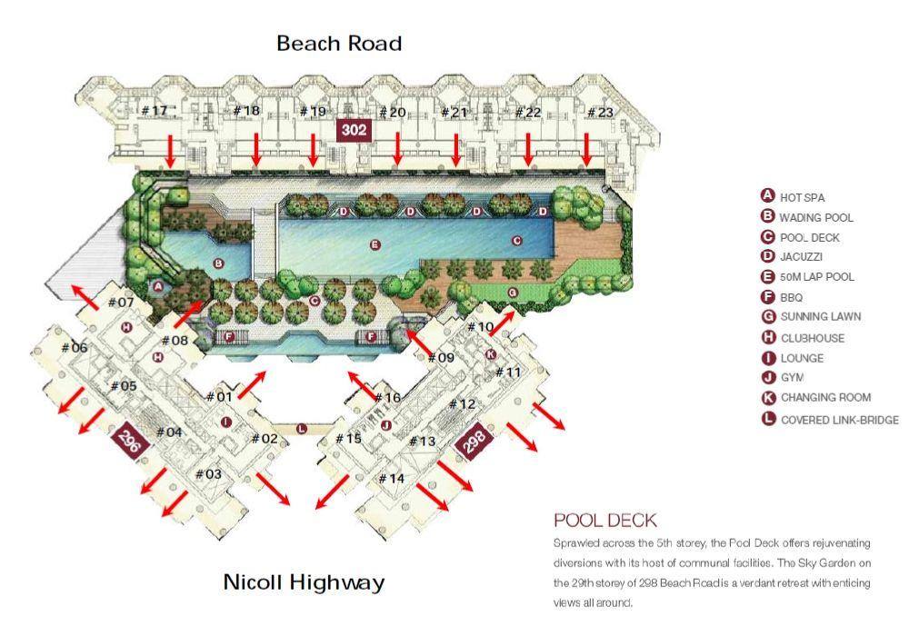 Concourse Skyline site plan