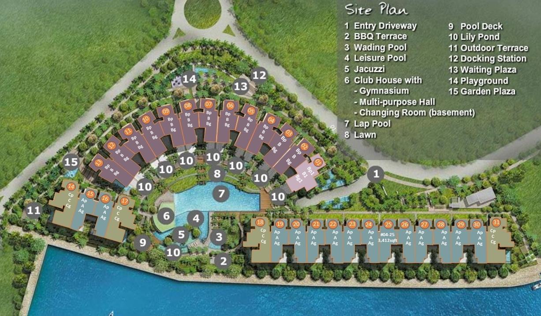 Marina Collection Site Plan