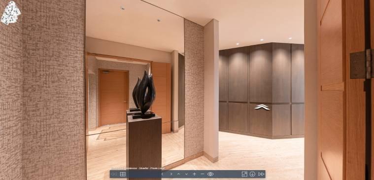 3D Virtual Tour of Bishopsgate Residences Showflat