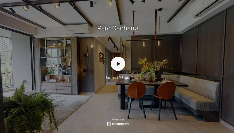 3D Virtual Tour of Parc Canberra 3 Bedroom + Utility + Yard Type C6-G