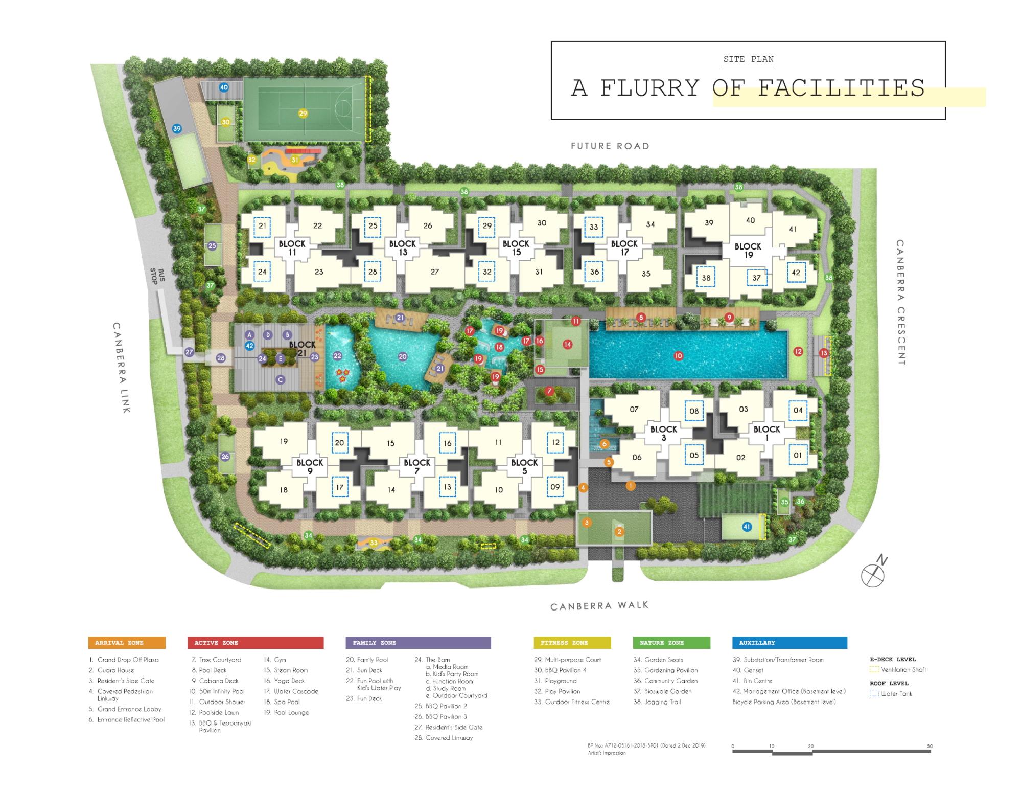 Parc Canberra Site Plan