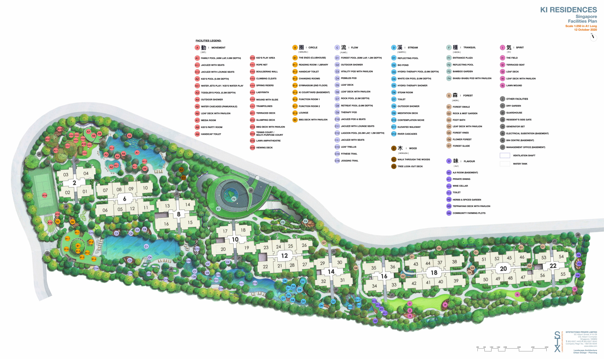Ki Residences at Brookvale site plan