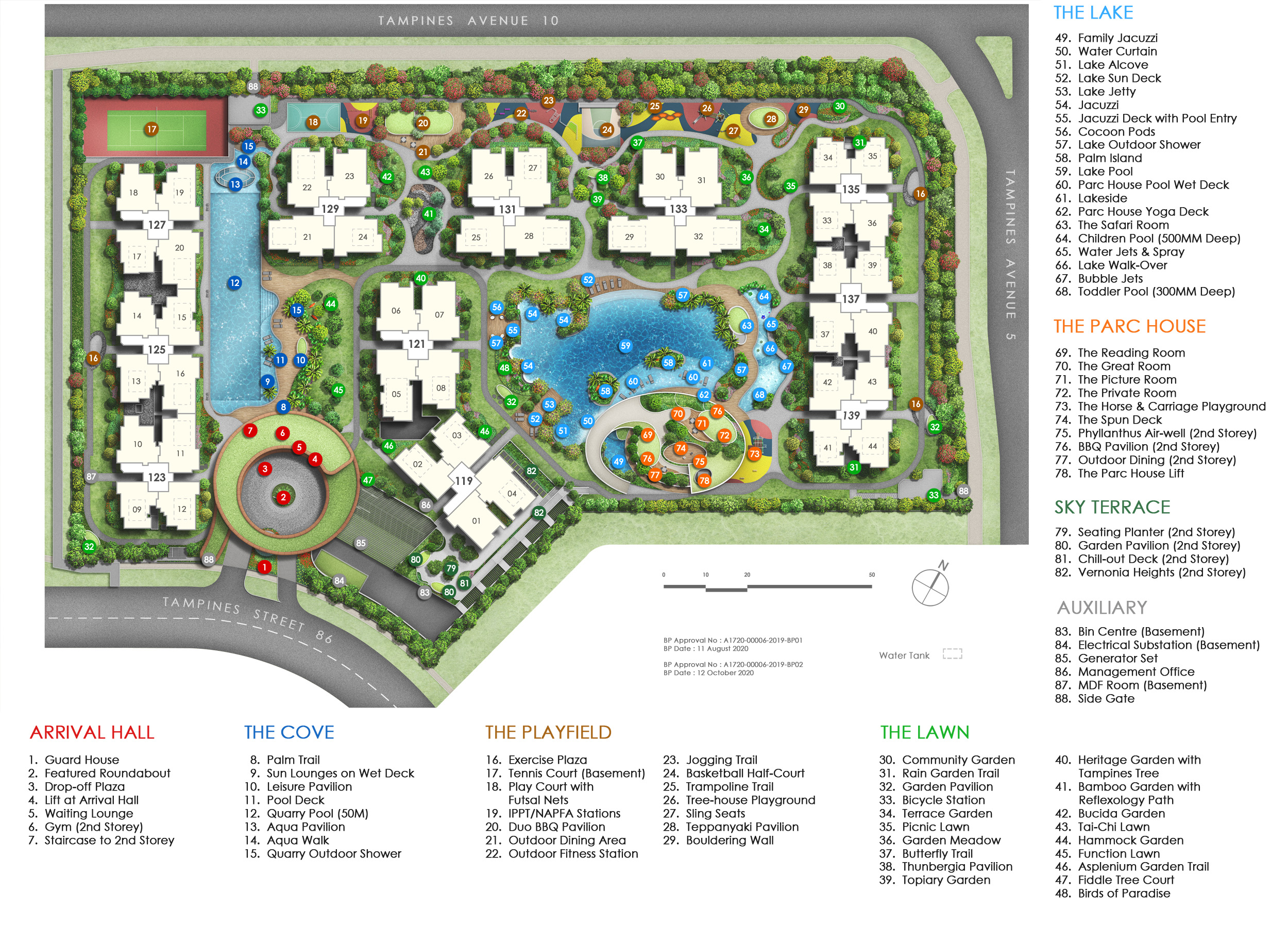 Parc Central Residences site plan