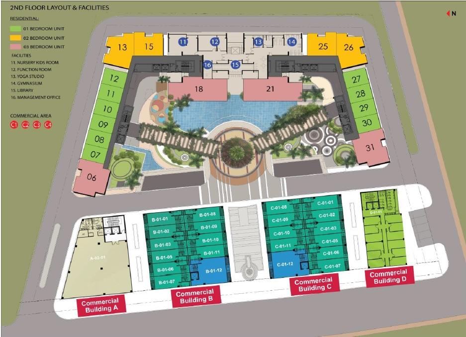 D'Seaview site plan