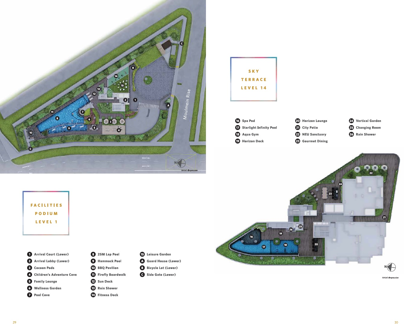 Neu at Novena site plan