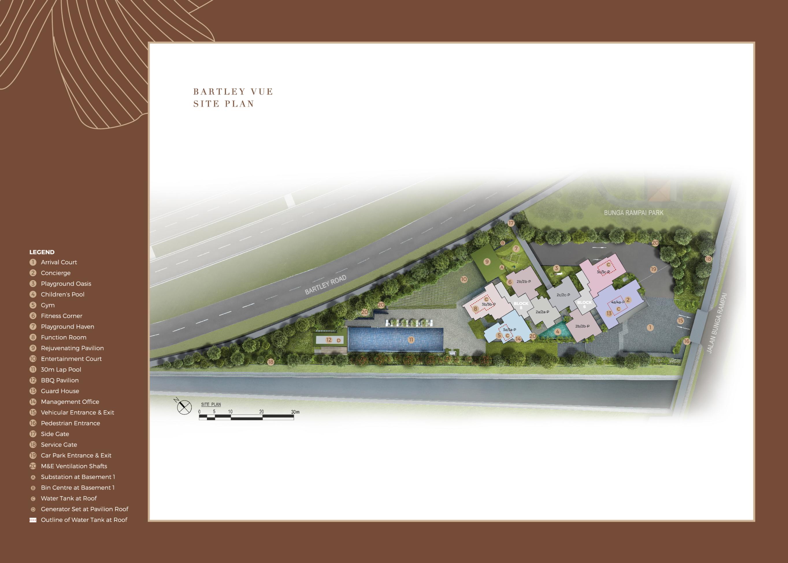 Bartley Vue site plan