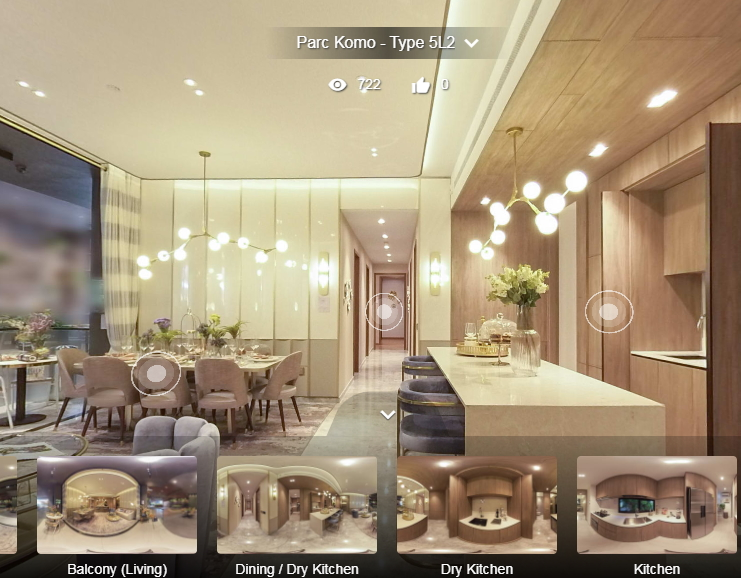3D Virtual Tour of Parc Komo 5 Bedroom Luxury, Type 5L2