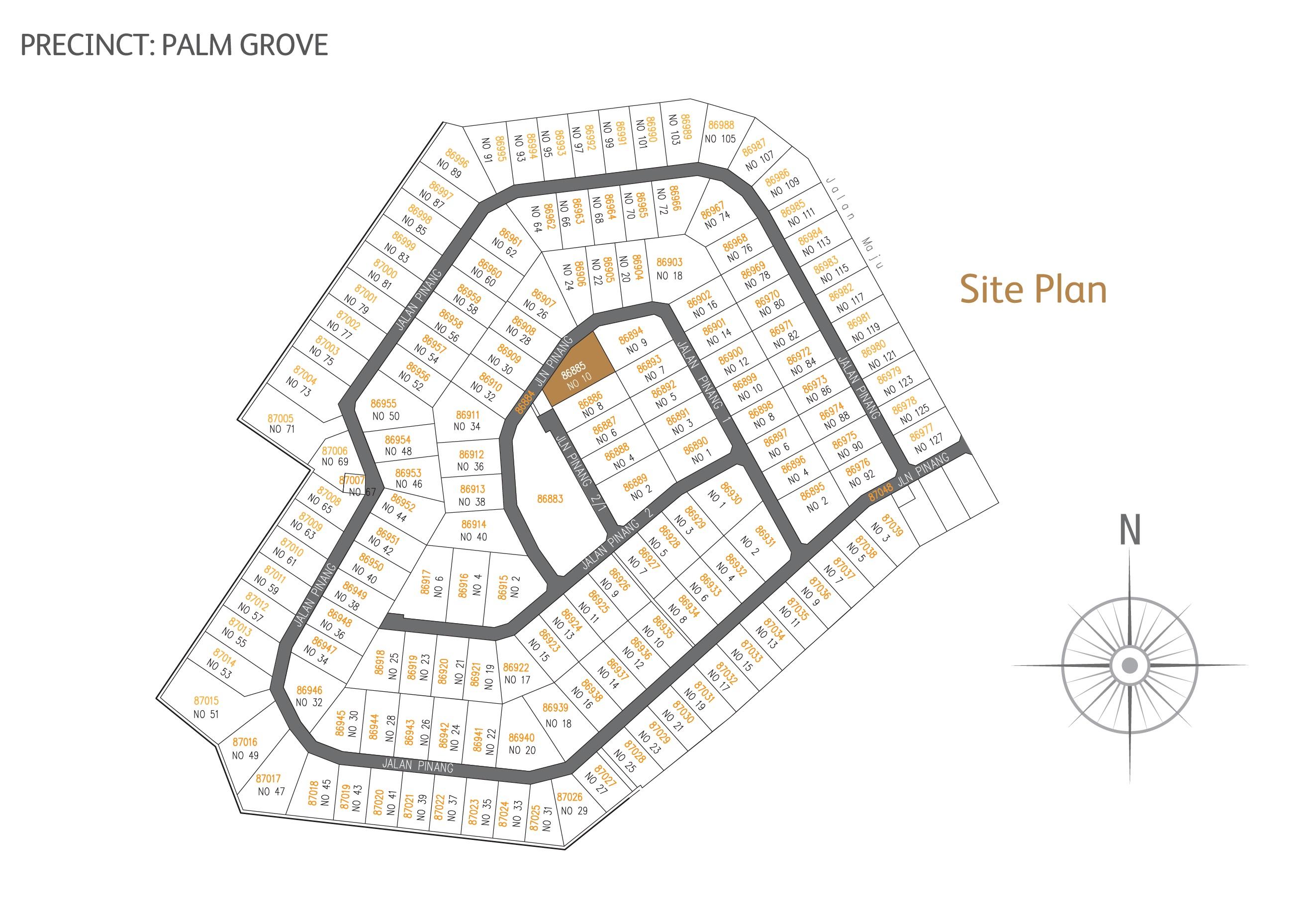 Leisure Farm site plan