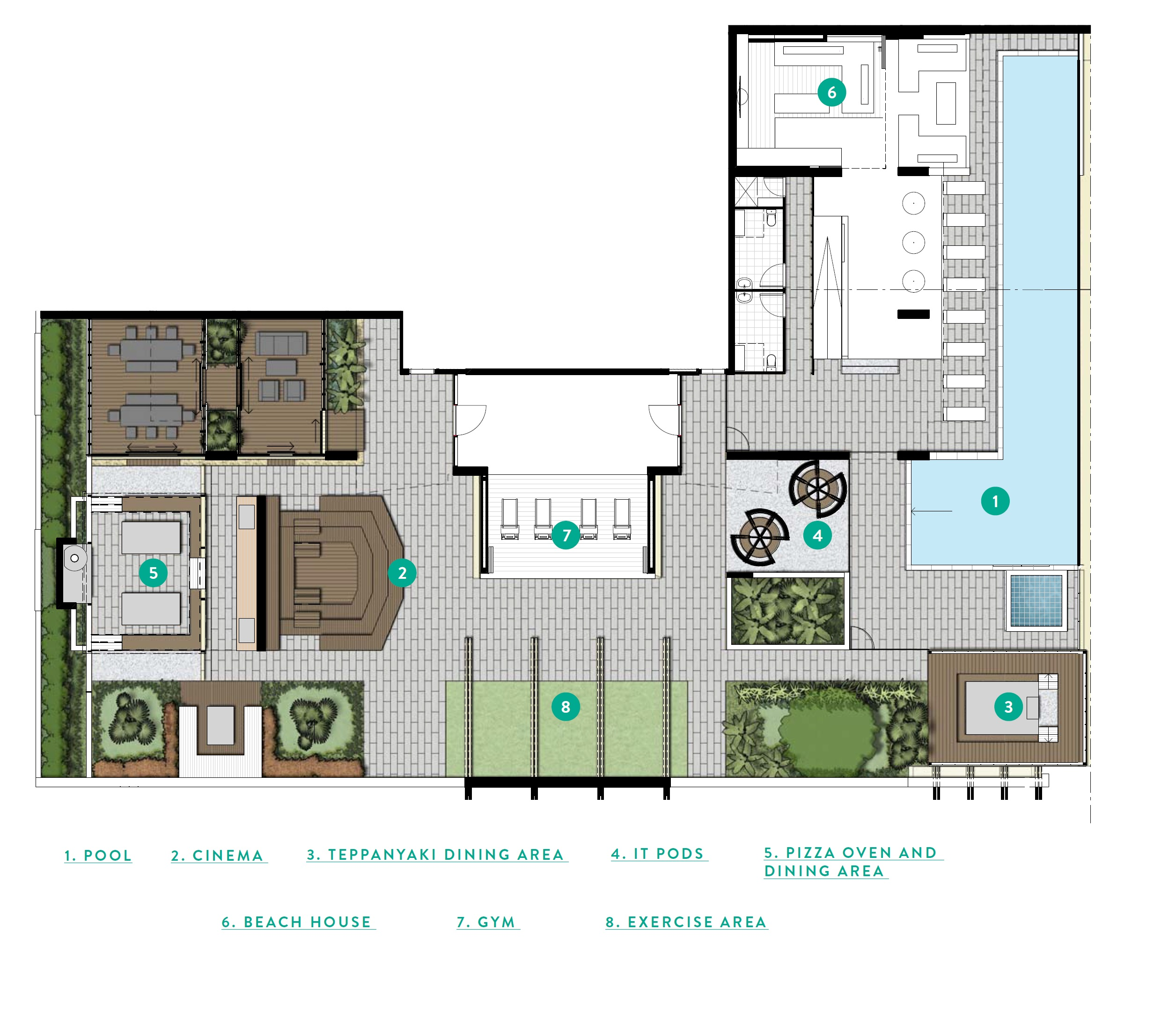 Ivy Tower site plan