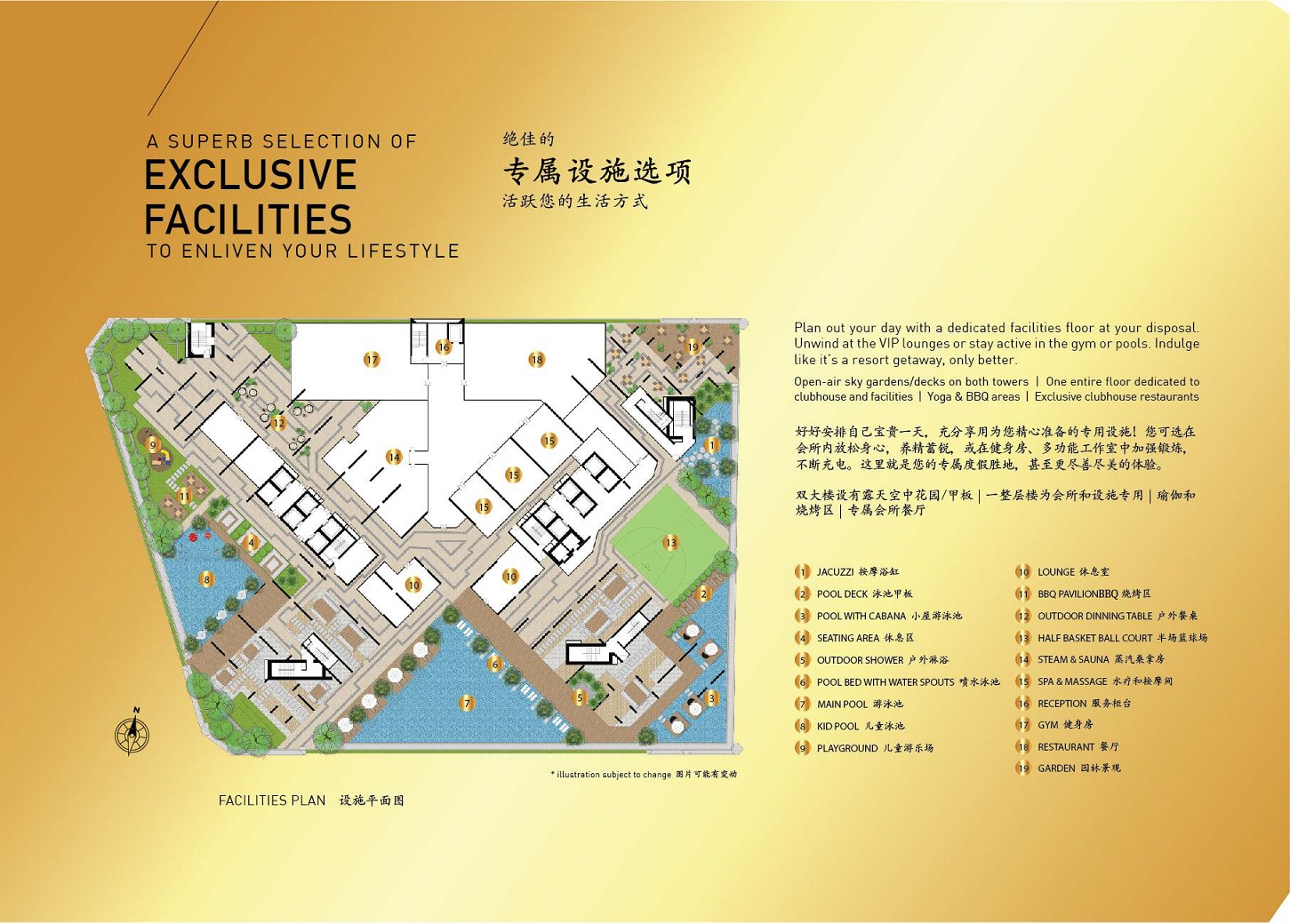 Royal Platinum site plan