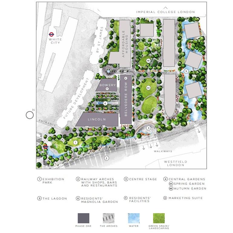 White City Living site plan